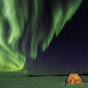 Night Photography. Featuring the Aurora Borealis in the Canada Arctic. Thomas Kokta Photography.